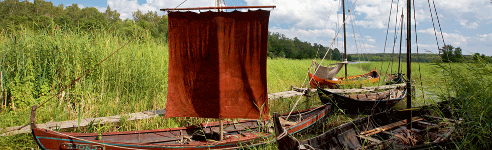 Vikingabåt i Birka